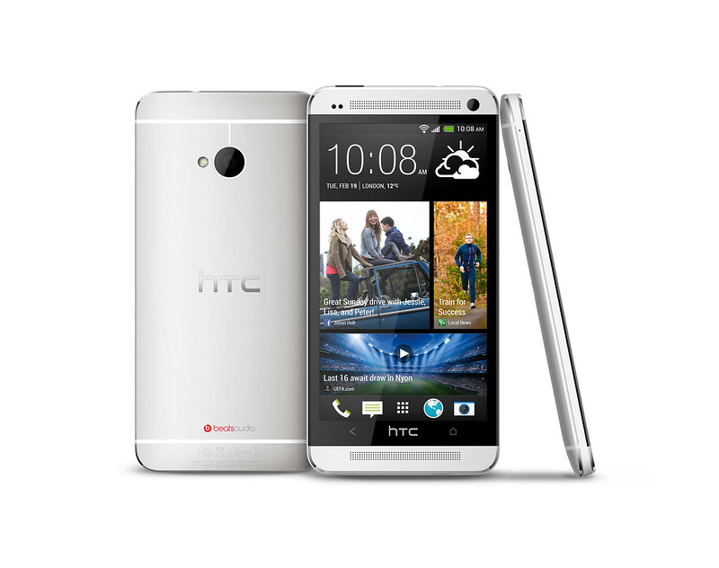 HTC One (Glacier Silver)