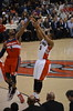 Kyle Lowry Shoots Over John Wall