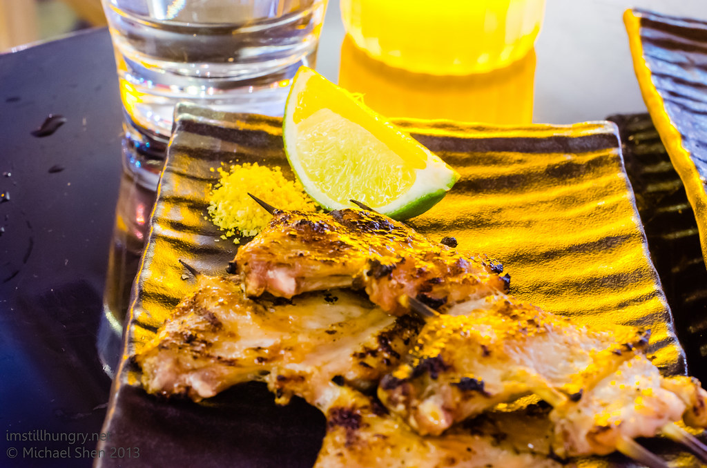 Tokonoma Grilled chicken wings
