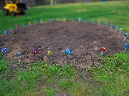 Fairy circle with minaturizing effect