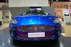 Jaguar XK at the 34th Bangkok International Motor Show