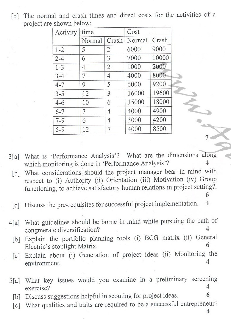 DTU Question Papers 2010 – 8 Semester - End Sem - PE-411