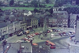 Richmond market place in 1975