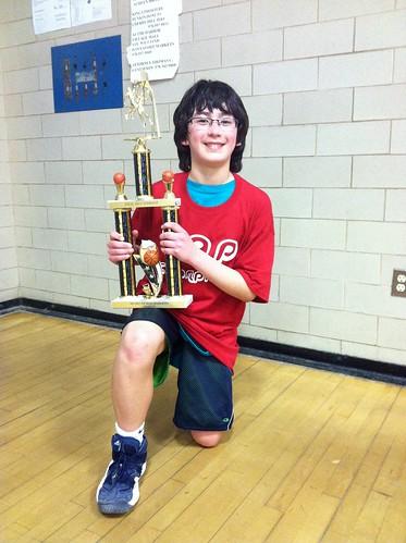 Adam 5th Grade Basketball