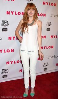 Bella Thorne Camisole Vest Celebrity Style Women's Fashion