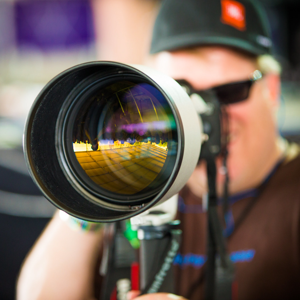 Scoble and 600mm of Lens, Coachella 2013 -- Indio, CA