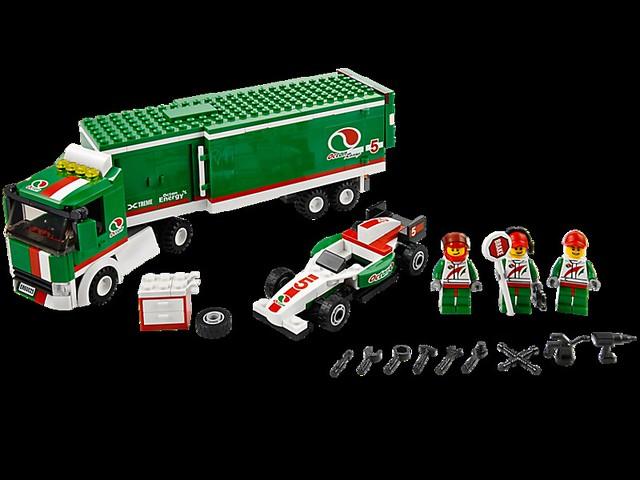 LEGO City 60025 - Grand Prix Truck