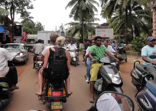 Streets in Calangute