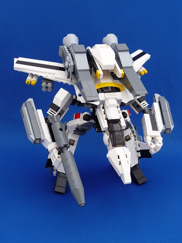 VF-1S Super Valkyrie Skull Leader Gerwalk Mode