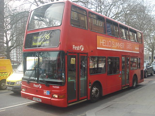 First TN33289 on Route 95, Shepherd's Bush