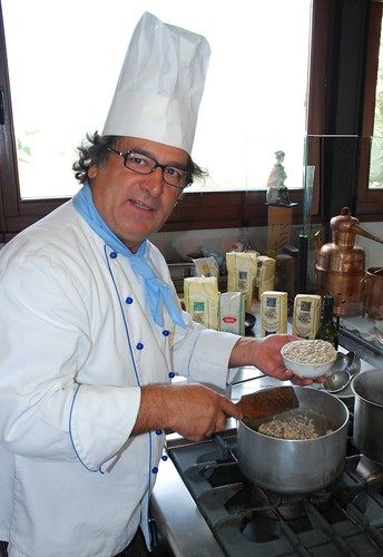 Interview With :    Gabriele Ferron, World Rice Ambassador Chef