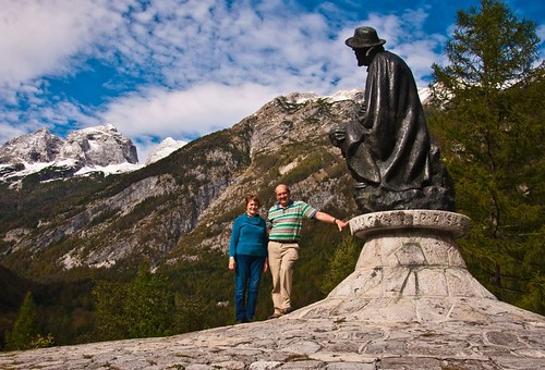 Statue in Triglav National Park