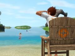 Island Paradise Life Guard