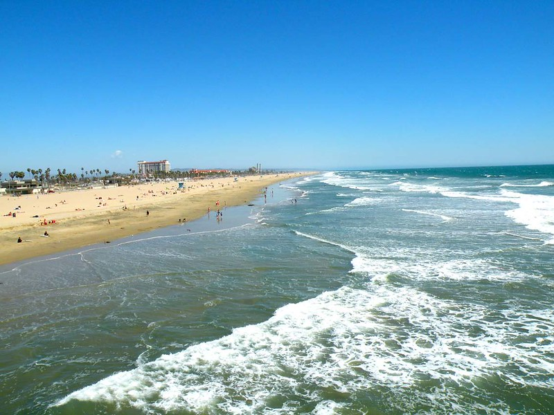 Huntington Beach from Pier