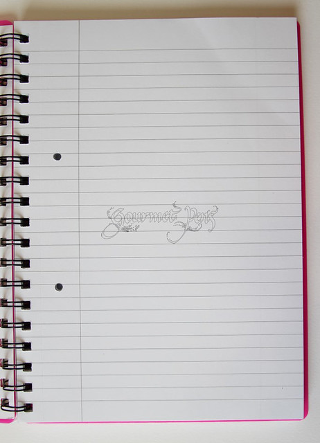 Nu - Elite Coiled Notebook Blank Page