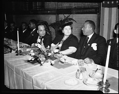 National Negro Congress Leaders at Banquet: 1940