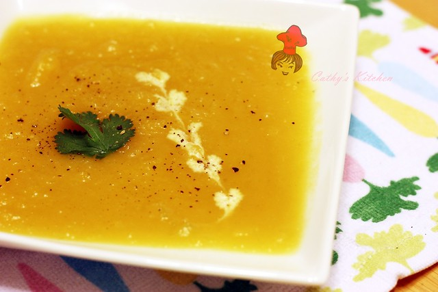 美式奶油瓜濃湯 Butter Squash Soup 1