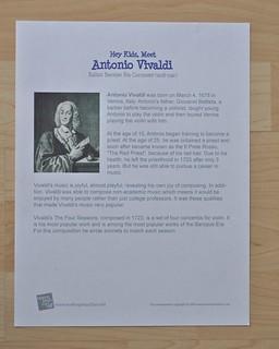 Vivaldi Info Sheet
