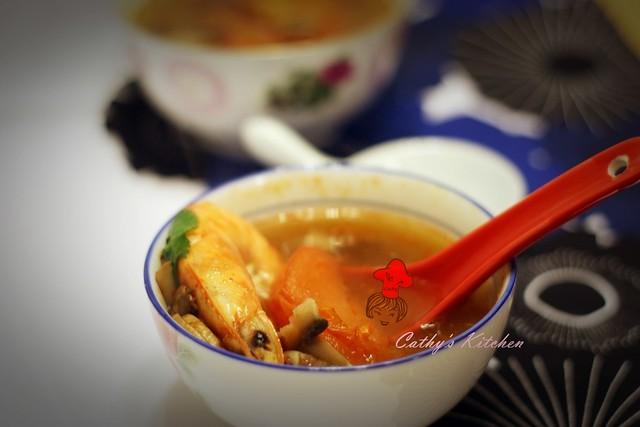 泰式冬陰酸辣湯 Thai Tom Yum Goong 1
