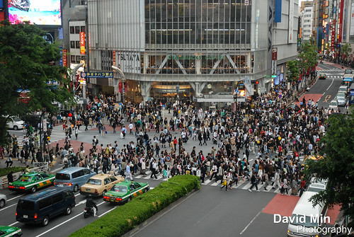 Tokyo, Japan - Shibuya Crossing by GlobeTrotter 2000