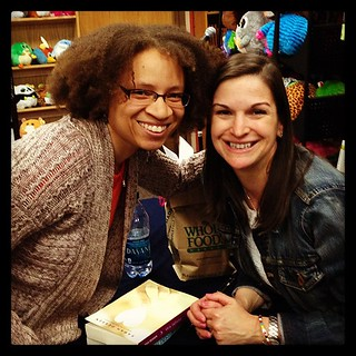 My favorite author @sdessen and me!!!! #sarahdessen #lilrongal