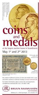 Nobel Prize medal auction ad