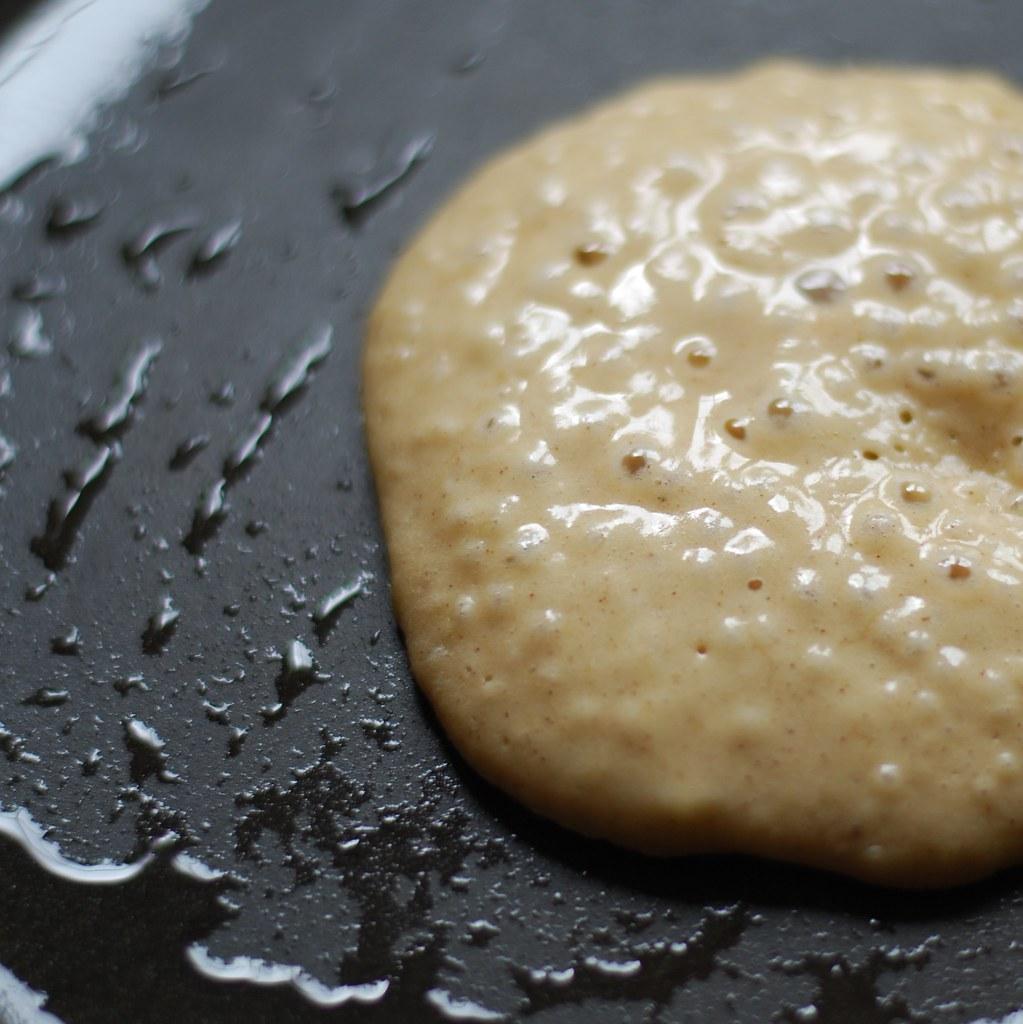 chambray and curls Banana Pancake Recipe Cooking