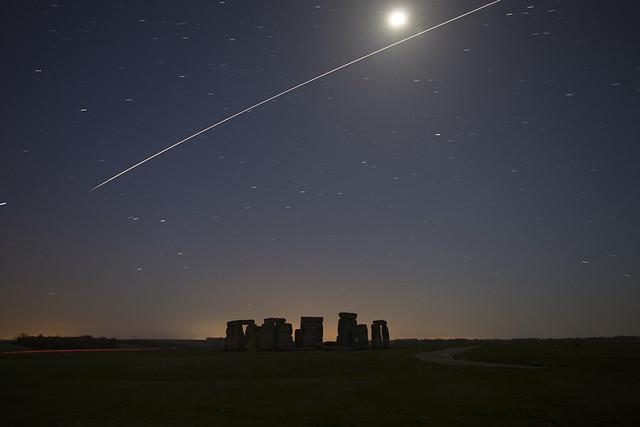 Stonehenge ISS Pass