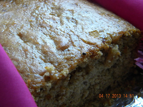 Nutty tea bread