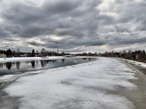 sky cloud ice canon finland river landscape day cloudy powershot hs sx40 canonpowershotsx40hs