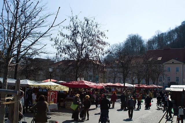 Ljubljana Central Market | Ljubljana, Slovenia