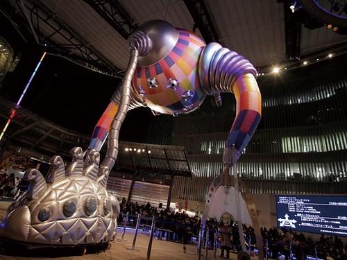 徳島LEDアートフェスティバル2013作品例