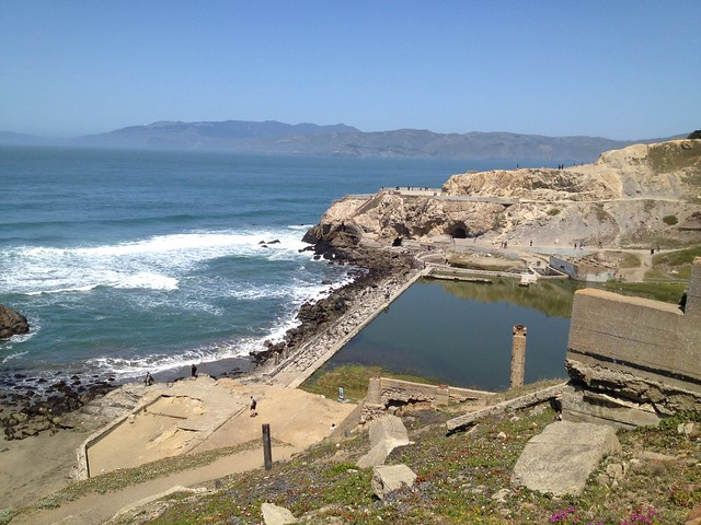 Sutro Baths site