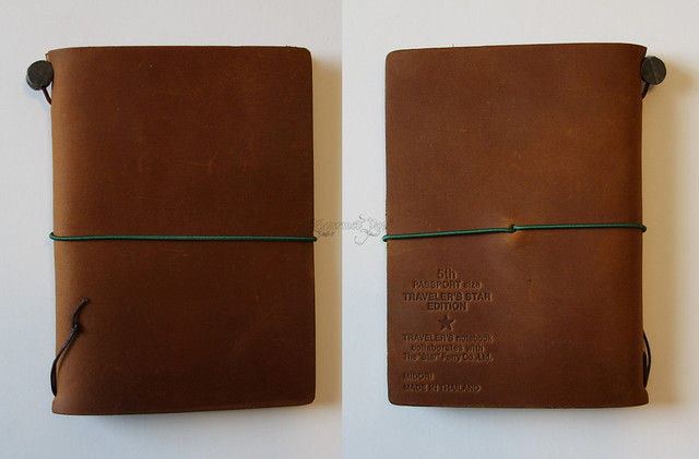 Midori Star Notebook Front & Back