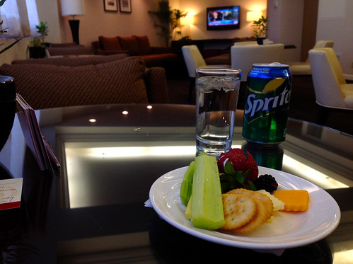 Sheraton LAX Club Lounge