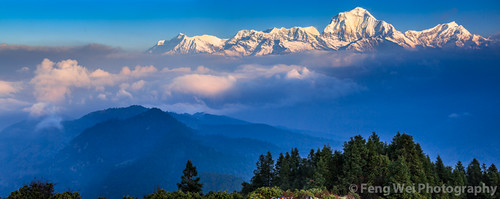 travel nepal panorama color tourism beautiful beauty horizontal sunrise trek landscape dawn scenery colorful asia view outdoor scenic peak panoramic stunning vista himalaya annapurna breathtaking poonhill gandaki dhaulagiri kaski