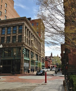 downtown Providence (c2013 FK Benfield)