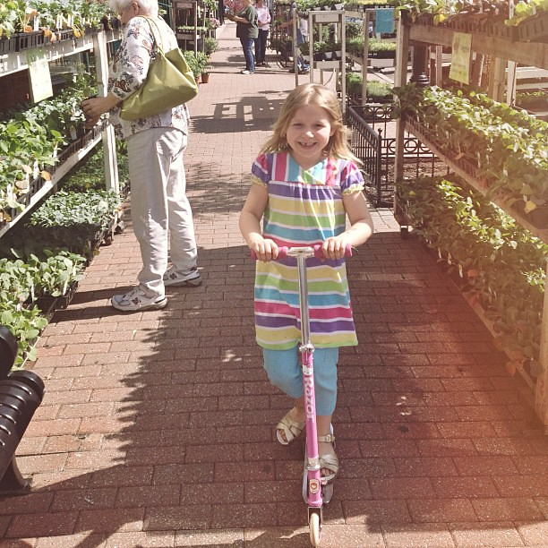 Take your daughter to work (because you forgot your laptop power cord and had to pick it up) day! #kc #rivermarket