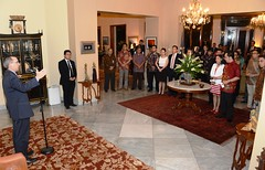 Ambassador Hosts Reception for Young Indonesian Business Leaders