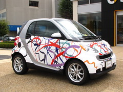 smart car SMARTWRAPDESIGN