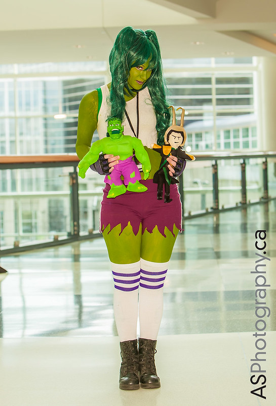 She-Hulk captured at C2E2 2013