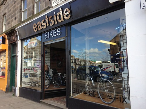 Eastside Bikes new sign