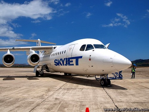 Sky Jet Airlines maiden flight to Busuanga photos by Azrael Coladilla of azraelsmerryland.blogspot.com