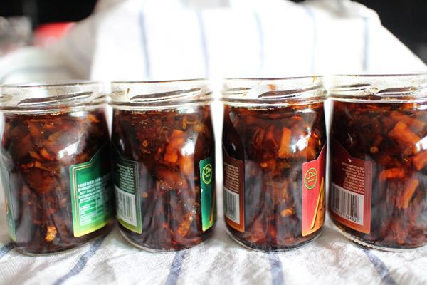 Homemade XO Sauce