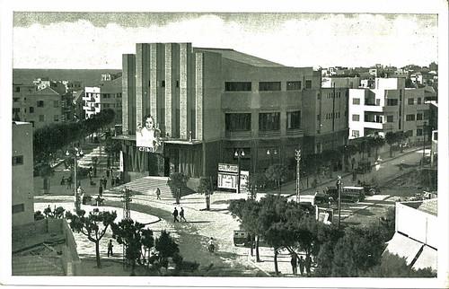 Tel Aviv - former Mograbi Cinema by Yekkes