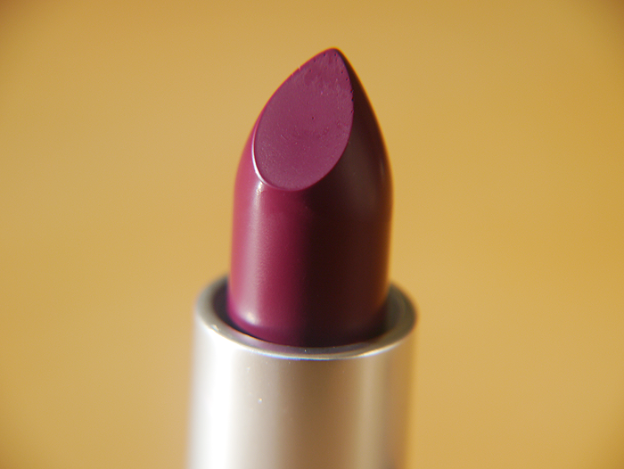 mac rebel lipstick review 2