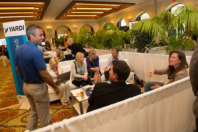 Networking at the 2013 AIM Conference®