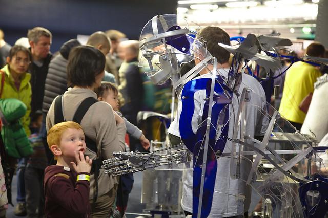 Maker Faire UK 2013 - Acrylic Automata