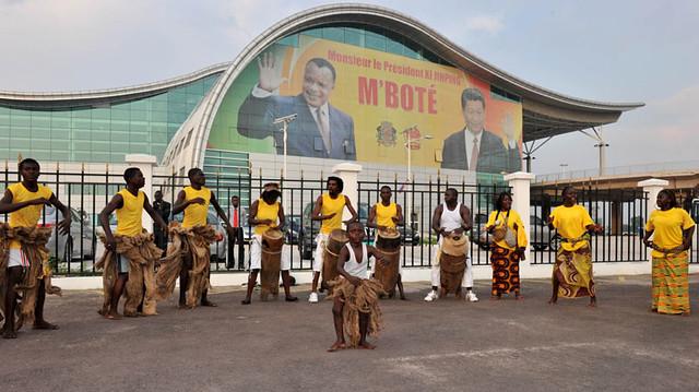 President Jacob Zuma in Congo Brazzaville, 2 May 2013