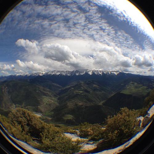 Una altra des del roc Beneïdor, vistes del #Cadí i vall del #Segre. #igersseu